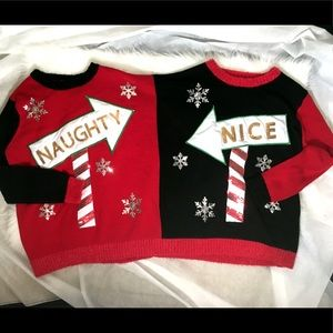 2 Person Ugly Christmas Sweater B6